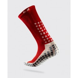 Chaussettes TRUSOX - Mid-Calf CUSHION - Rouge / Blanc