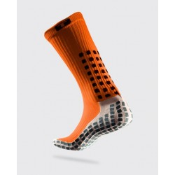 Chaussettes TRUSOX - Mid-Calf CUSHION - Orange / Blanc