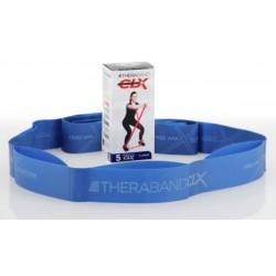 Bandes d'exercices THERABAND CLX prédécoupées -Bleu -2,6 KG