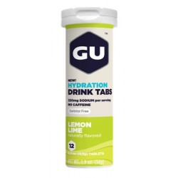 GU Tablettes Hydratation Drink - Citron vert