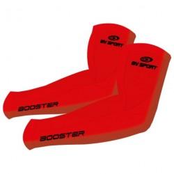 Manchettes de compression BV sport - ROUGE
