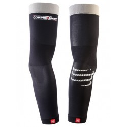manchettes PRO RACING ARM SLEEVE V2 NOIR (Paire) - COMPRESSPORT