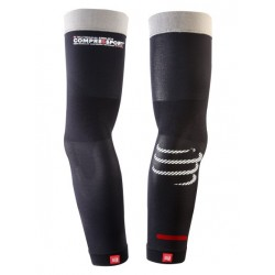 manchettes PRO RACING ARM SLEEVE WATCHSPACE NOIR - COMPRESSPORT
