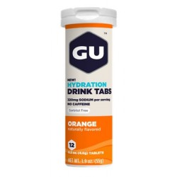 GU Tablettes Hydratation Drink - Orange