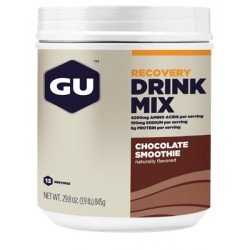 GU RECOVERY Drink Mix Boisson Récupération - Chocolat smoothie