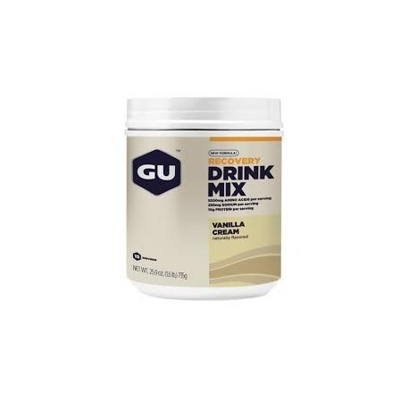 GU RECOVERY Drink Mix Boisson Récupération - Vanille