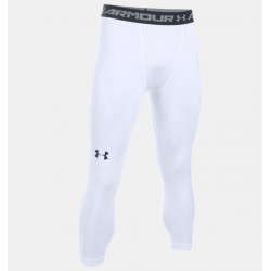 Leggings ¾ de compression Under Armour HeatGear® - Blanc