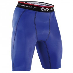 Short de compression Bleu Homme 8100 - Mc David