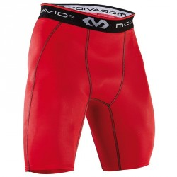 Short de compression Rouge Homme 8100 - Mc David