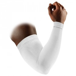 Manchons de compression avant-bras ACTIVE - Blanc - Mc David