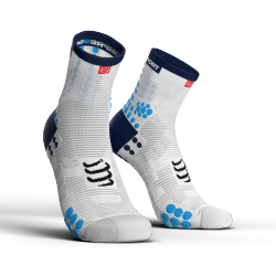 Chaussettes blanche Pro Racing Socks V3.0 - COMPRESSPORT