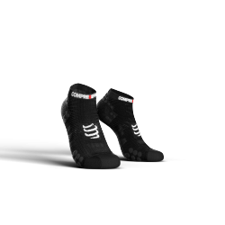 Chaussettes courtes Noir Pro Racing Socks V3.0 low cut - COMPRESSPORT