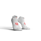 Chaussettes courtes Blanche Pro Racing Socks V3.0 low cut - COMPRESSPORT