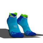 Chaussettes Bleu Pro Racing ultra light run low V3.0 - COMPRESSPORT
