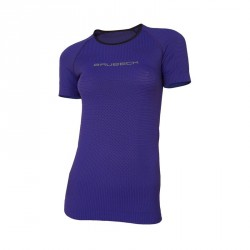 T-shirt manches courtes Femme 3D RUN PRO ATHLETIC Violet - BRUBECK
