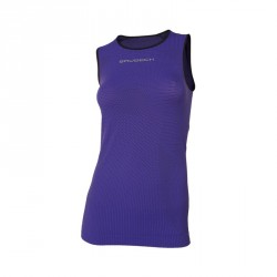Débardeur Femme 3D RUN PRO ATHLETIC Violet - BRUBECK