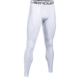 Legging HeatGear® Armour Compression Blanc