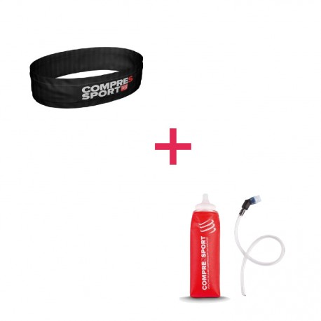 Ceinture Noir Freebelt - Compressport