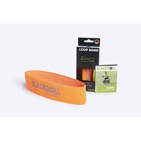Mini-bandes d'exercices Blackroll - orange