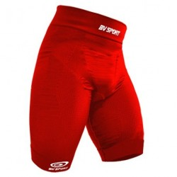 Cuissard compression CSX TEAM Rouge - BV Sport