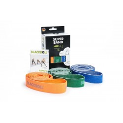 set de 3 Bandes d'exercices Blackroll Super-Bands