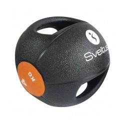 Médecine ball avec poignées 4 kg - SVELTUS