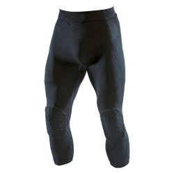 PANTALON 3/4 AVEC COMPRESSION ET PROTECTION GENOU - ELITE HEX 2-Pad - MCDAVID 749
