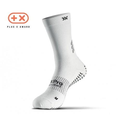 Chaussettes antidérapantes SOXPro UltraLight - Blanc
