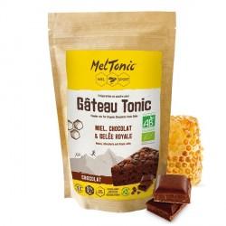 Gâteau énergétique Bio: Chocolat, Miel & Gelée royale - Meltonic