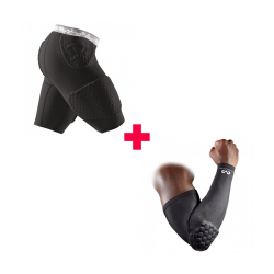 Pack Protection Hand: Short Hex WRAP + Manchon Power Shooter 7991 + 6500