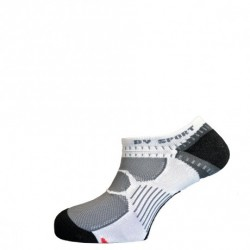 Socquettes RUNNING Invisibles BLANCHES BV SPORT