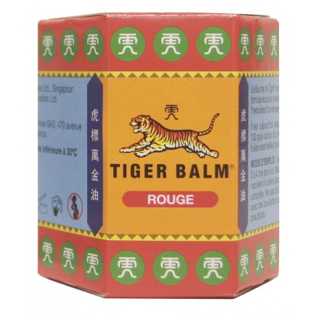 "Baume du Tigre Rouge - ""L'Authentique"" - Pot de 30g"