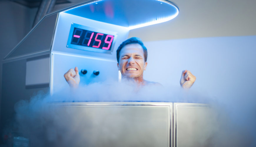 récupération avec la cryothérapie