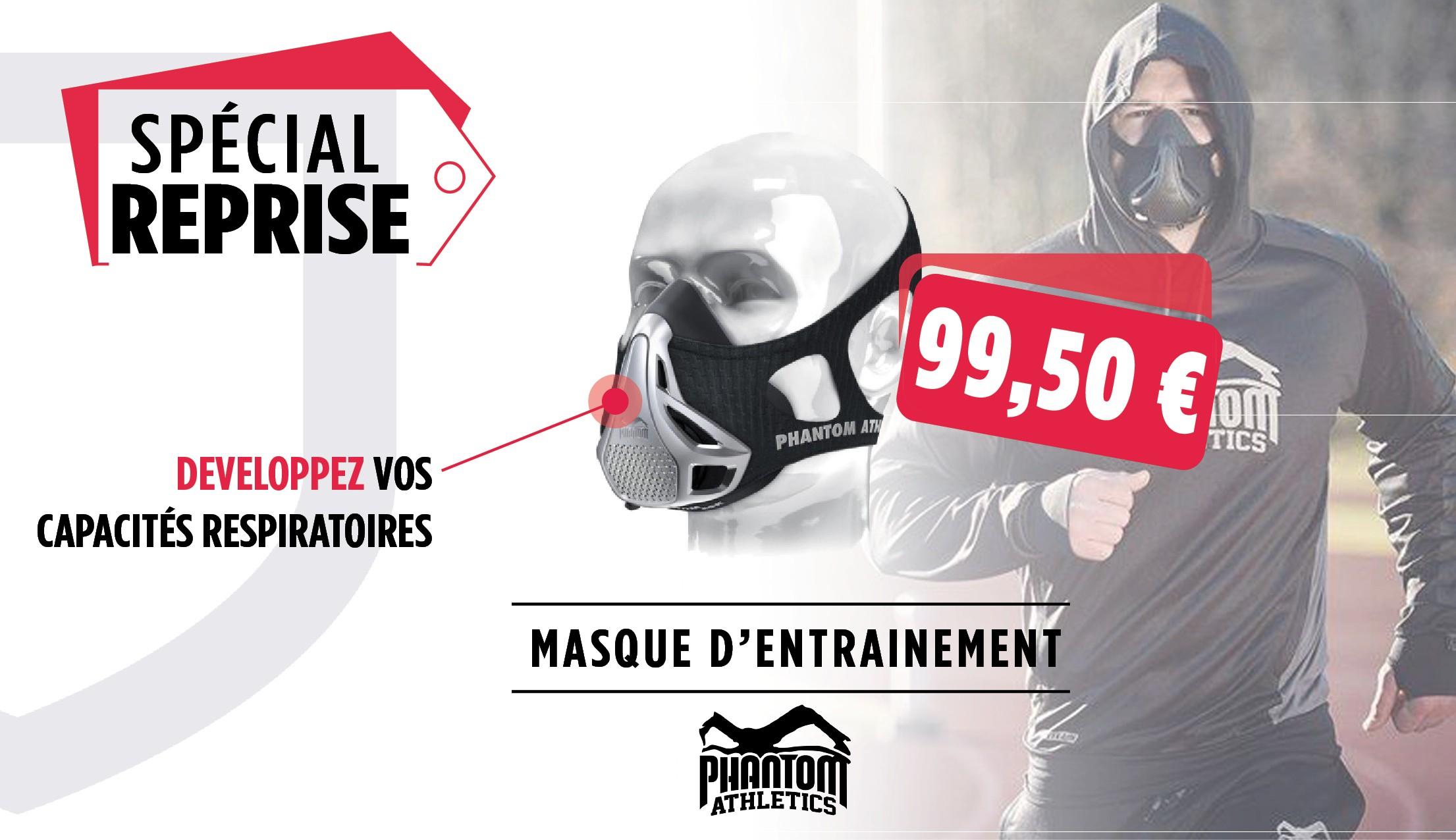 Masque d'entrainement - Phantom